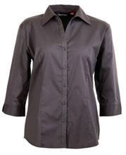 W03-Ladies-Rodeo-3Q-Sleeve-charcoal