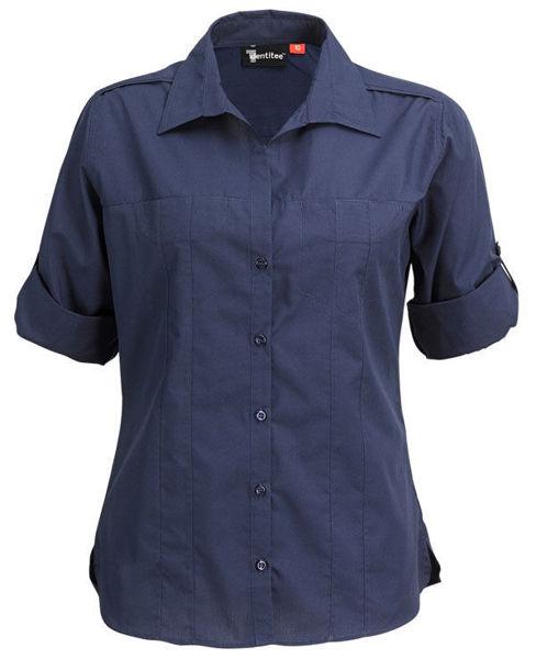 W36-Ladies-Murray-3Q-Sleeve-Navy