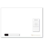 M420-A3-Magnetic-Whiteboard-With-Notepad