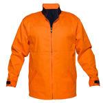 MJ288 -100%-Cotton-Drill-Jacket-Orange