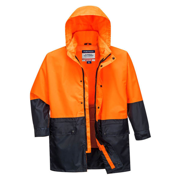 MJ206-Kimberley-Lightweight-Hi-Vis-Rain-Jacket-Orange-Navy
