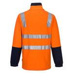 MF615-Cotton-Brush-Fleece-Jumper-with-Tape-Orange-Back