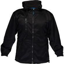 MF317-Water-Repellent-Fleece-Hoodie-Black