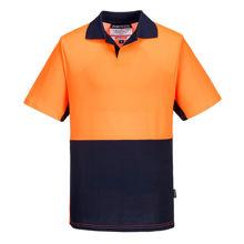 MF210-Short-Sleeve-Food-Industry-Cotton-Comfort-Polo-Orange