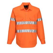MC191-Hi-Vis-Long-Sleeve-Closed-Front-Shirt