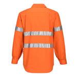MC191-Hi-Vis-Long-Sleeve-Closed-Front-Shirt-Back