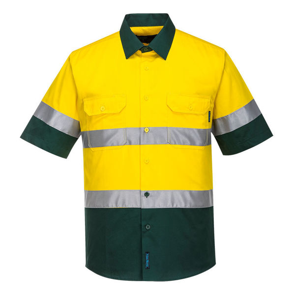 MA802-Hi-Vis-Two-Tone-Lightweight-Shirt-Yellow-Green