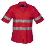 MA302-Hi-Vis-Lightweight-SS-Shirt-Red
