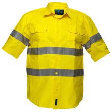 MA192-Hi-Vis-Regular-Weight-SS-Shirt-Yellow