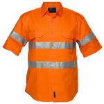 MA192-Hi-Vis-Regular-Weight-SS-Shirt-Orange