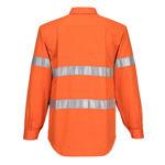 MA191-Hi-Vis Regular-Weight-LS-Shirt-Back