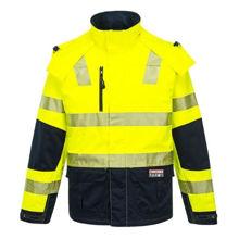 K8108-Shield-Jacket-Yellow-Navy