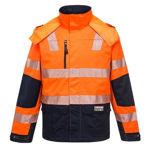 K8108-Shield-Jacket-Orange-Navy