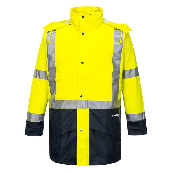 K8104-Farmers-Hi-Vis-Jacket-Yellow-Navy