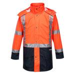 K8104-Farmers-Hi-Vis-Jacket-Orange-Navy