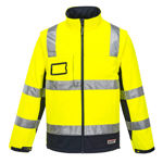 K8074-Chassis-Jacket-Softshell-2in1-Yellow-Navy