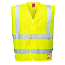 FR71-Hi-Vis-Anti-Static-Vest-Flame-Resistant-Yellow