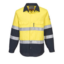 FR04-Portflame-Shirt-Yellow-Navy