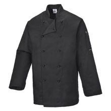 C834-Somerset-Chefs-Jacket-Black