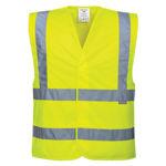 C470-Hi-Vis-Two-Band-&-Brace-Vest-Yellow