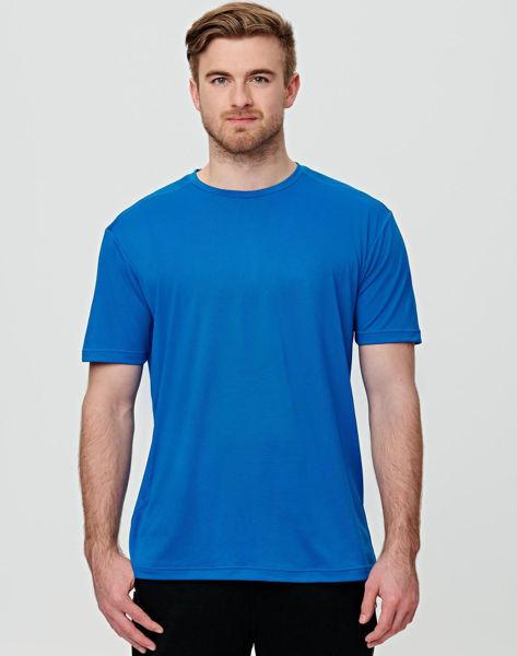 TS39-Rapidcool-Ultra-Light-Tee-Shirt-Mens-Electric-Blue