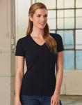 TS04A-Stretch-Short-Sleeve-Tee-Ladies'-Model