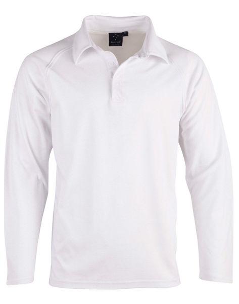 PS29KL-Cricket-Polo-Long-Sleeve-Kids'-White