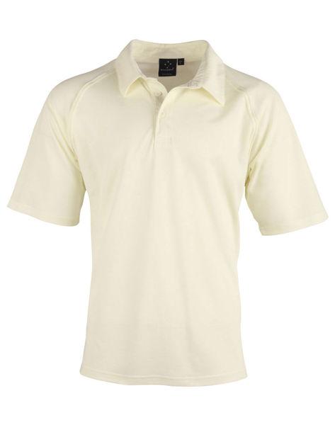 PS29-Cricket-Polo-Short-Sleeve-Men's-Cream