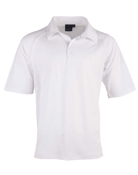PS29K-Cricket-Polo-Short-Sleeve-Kids-White