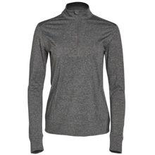 FL26-Ultimate-Half-Zip-Long-Sleeve-Sweat-Top-Ladies-Charcoal