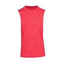 T403MS-Mens-Heather-Sleeveless-Tee-Red-Heather