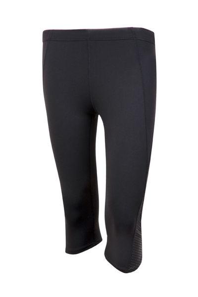 S858LD-Ladies-AVA-Nylon-Spandex-3Q-Leggings-Black