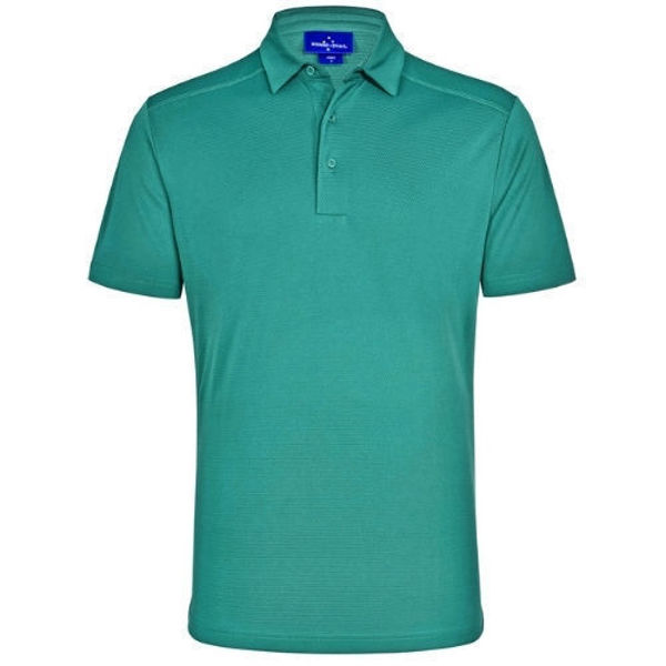 PS87-Bamboo-Charcoal-Corporate-Short-Sleeve-Polo-Men-Teal