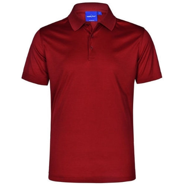 PS75-Icon-Polo-Men's-Red