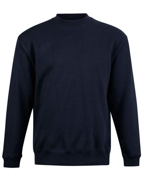 FL01-Eagle-Top-Fleece-Sweat-Unisex-Navy-Blue