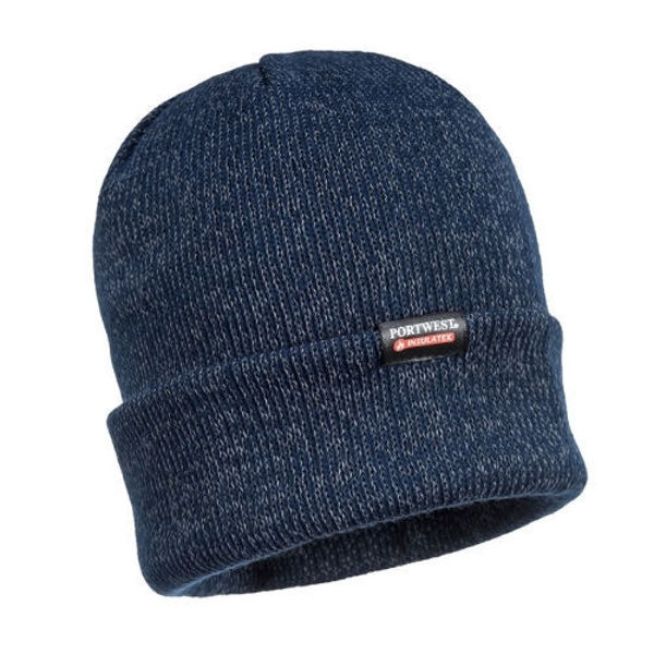 B026-Reflective-Knit-Beanie-Insulatex-Lined-Navy