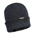 B026-Reflective-Knit-Beanie-Insulatex-Lined-Black
