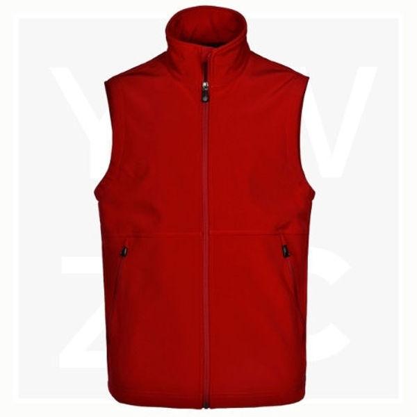 JK25-Men's-Softshell-Hi-Tech-Vest-Red