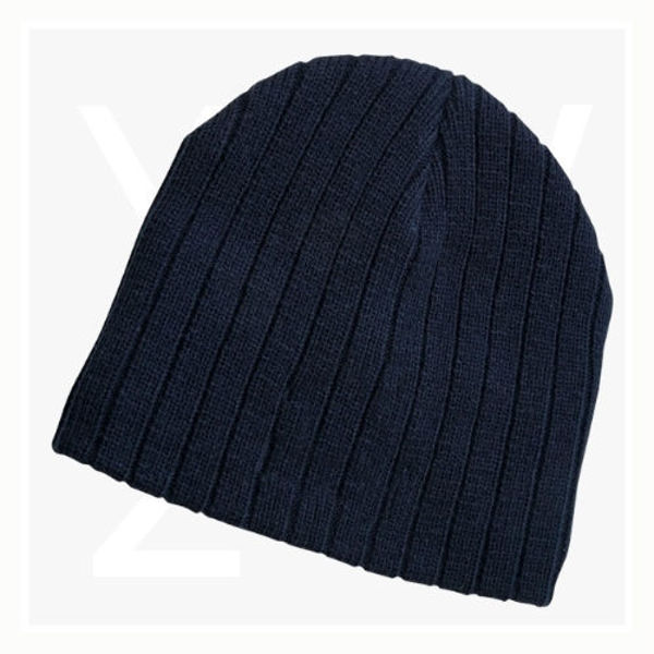 LL4235-Cable-Knit-Beanie-Navy